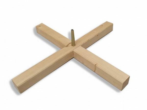 Easyfix Einzelständer Fichte, 52 cm, fest mit Einschlagdorn (vormontiert)
