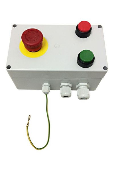 Elektroeinheit für Bohrmaschine Typ 4 incl. Schalter und Notstopp