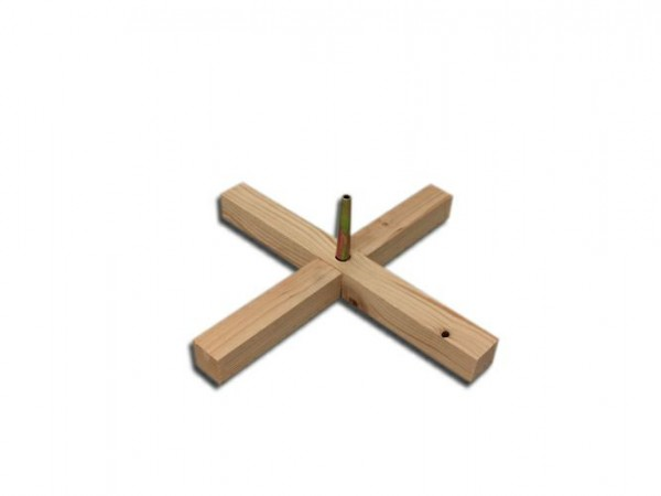 Easyfix Einzelständer Fichte, 39 cm, fest mit Einschlagdorn (vormontiert)