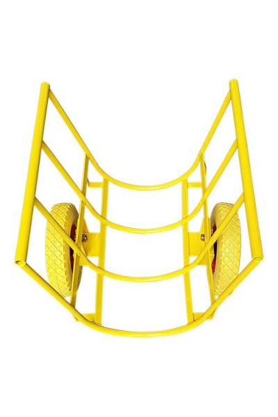 Transportwagen / Trolley, 650 mm breit (Lieferung ohne Schiebestange)